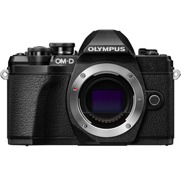 Olympus OM-D E-M10 Mark III Mirrorless Camera (Body Only, Black)
