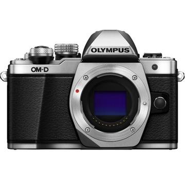 Olympus OM-D E-M10 Mark III Mirrorless Camera (Body Only, Silver)