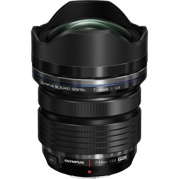 Olympus M.Zuiko 7-14mm f/2.8 PRO Lens (Black)