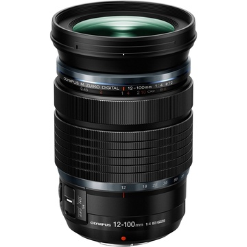 Olympus M.Zuiko 12-100mm f/4.0 IS PRO Lens (Black)