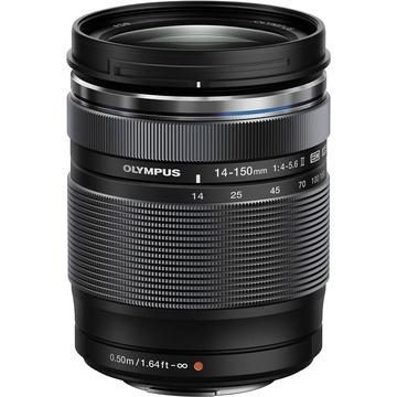 Olympus M.Zuiko 14-150mm f/4.0-5.6 Lens (Black)