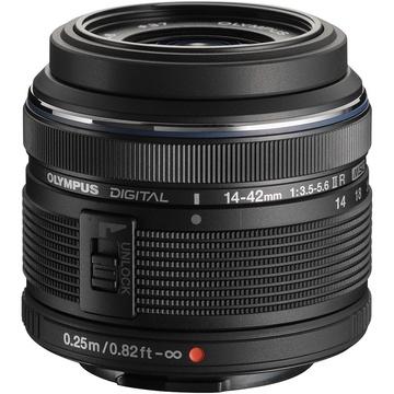 Olympus M.Zuiko 14-42mm f/3.5-5.6 Lens (Black)
