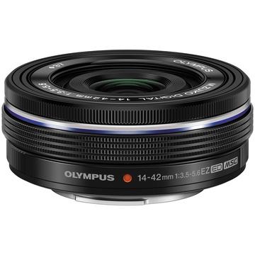 Olympus M.Zuiko 14-42mm f/3.5-5.6 Pancake Lens (Black)