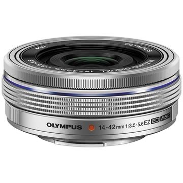 Olympus M.Zuiko 14-42mm f/3.5-5.6 Pancake Lens (Silver)