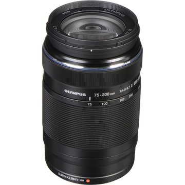 Olympus M.Zuiko 75-300mm f/4.8-6.7 II Lens (Black)