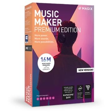 MAGIX Entertainment Music Maker Premium Edition - Music Production Software (Download)