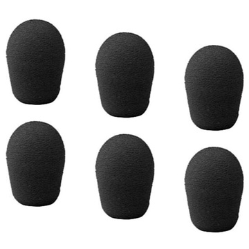 Point Source Audio 6-WSN-BL Windscreen (Set of 6, Black)