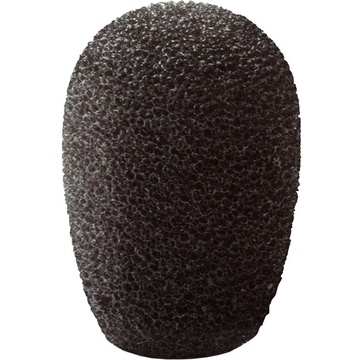 Point Source Audio Windscreens for CO2 Dual-Element Microphone (6-Pack, Black)