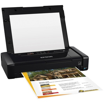 Epson WF-100 WorkForce 4 Colour Inkjet Printer