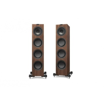 KEF Q750 Floorstanding Speaker Pair (Walnut)