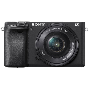 Sony Alpha a6400 Mirrorless Digital Camera with 16-50mm Lens (Black)
