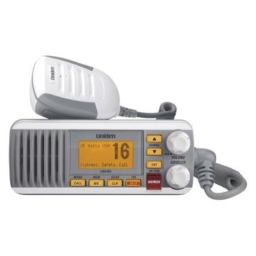 Uniden UM385 Waterproof DSC Marine Radio (White)