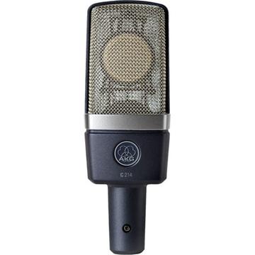 AKG C214 Cardioid Studio Condenser Microphone