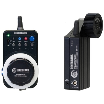 Cinegears Express Kit Wireless Follow Focus with Extreme High-Torque Motor