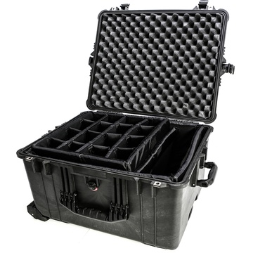 Cinegears Pelican 1624 Case with Padded Dividers (Black)
