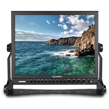 """FeelWorld P150-3HSD 15"""" Broadcast LCD Monitor"""