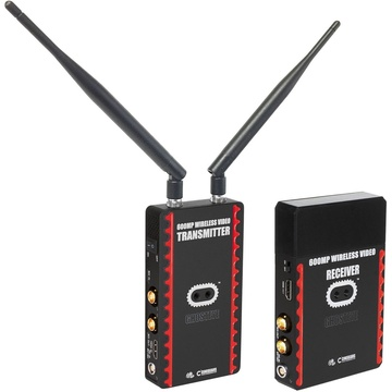 Cinegears 6-635 Ghost-Eye 600MP Wireless Transmitter and Receiver Kit (Gold Mount/L-Series)