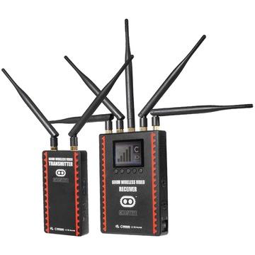 Cinegears 6-607 Ghost-Eye Wireless HDMI & SDI Video Transmission Kit 600M (Gold Mount)