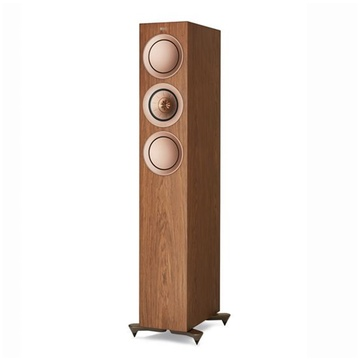 KEF R5 Floor Standing Speaker (Pair, Walnut)
