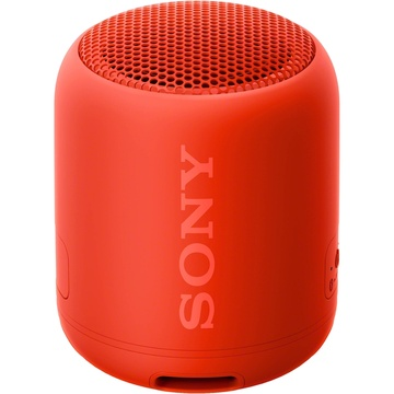 Sony SRS-XB12 Extra Bass Portable Bluetooth Speaker (Red)