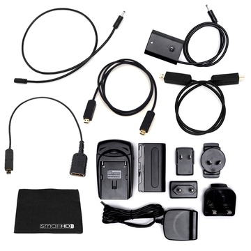 SmallHD FOCUS 5 Sony NPFZ100 Accessory Pack