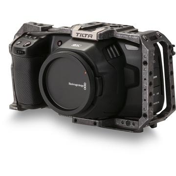 Tilta Full Camera Cage For Blackmagic Design Pocket Cinema Camera 4k 6k Tactical Grey