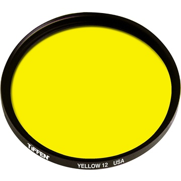 Tiffen 12 Yellow Filter (72mm)