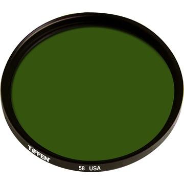 Tiffen 58mm Green 58 Glass Filter for Black & White Film