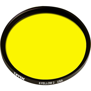 Tiffen 82mm Yellow 2 8 Glass Filter for Black & White Film