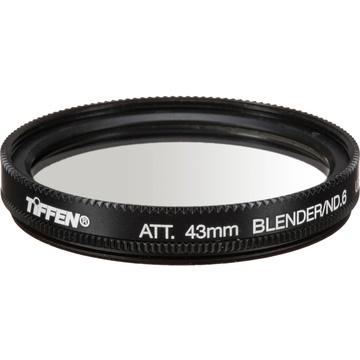 Tiffen 43mm Graduated Neutral Density Attenuator/Blender 0.6 Filter (2-Stop)