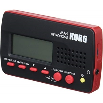 Korg MA1 Digital Metronome (Black & Red)
