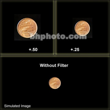 Tiffen 138mm Close-up +1/2 Lens