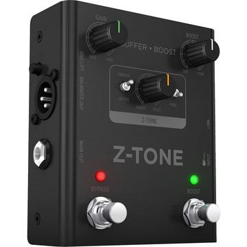 IK Multimedia Z-Tone Buffer Boost Instrument Preamp and DI Stompbox