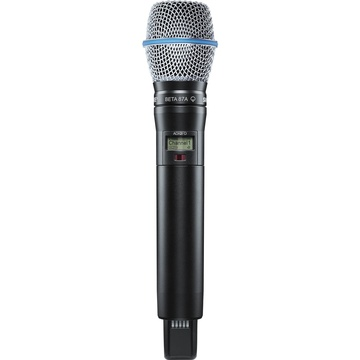 Shure ADX2FD/B87A Digital Handheld Wireless Microphone Transmitter with Beta 87A Capsule
