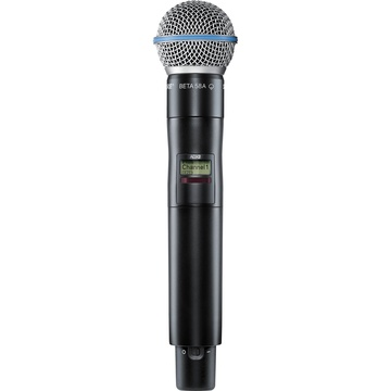 Shure ADX2/B58 Digital Handheld Wireless Microphone Transmitter with Beta 58A Capsule