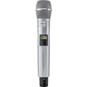 Shure AD2/KSM9N Digital Handheld Wireless Microphone Transmitter with KSM9 Capsule