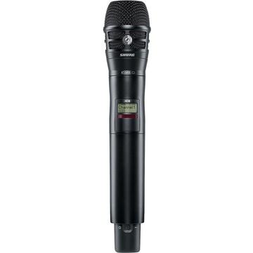 Shure AD2/KSM8B Digital Handheld Wireless Microphone Transmitter with KSM8 Capsule