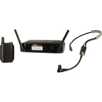 Shure GLXD14/SM35 Digital Wireless Cardioid Performance Headset Microphone System (2.4 GHz)