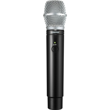 Shure MXW2 Handheld Transmitter with SM86 Microphone Capsule