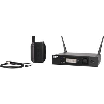 Shure GLXD14R/WL93 Advanced Digital Wireless Omni Lavalier Microphone System (2.4 GHz)