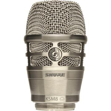 Shure RPW170 KSM8 Dualdyne Cardioid Dynamic Wireless Microphone Capsule (Nickel)
