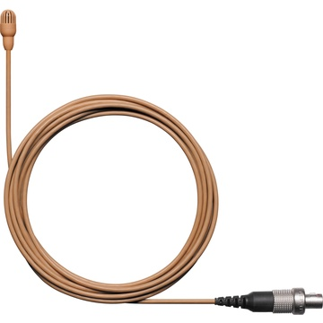 Shure TwinPlex TL47 Omnidirectional Lavalier Microphone with Accessories (LEMO, Cocoa)