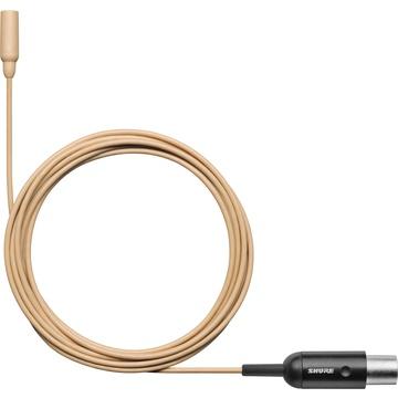 Shure TwinPlex TL48 Omnidirectional Lavalier Microphone (TA4F, Tan)