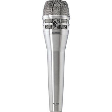 Shure KSM8/N Dualdyne Dynamic Handheld Vocal Microphone (Nickel)