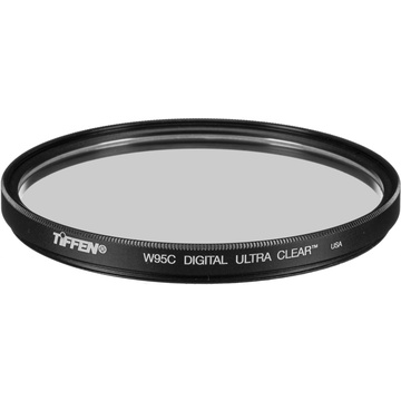 Tiffen 95mm Digital Ultra Clear Filter (Water White Glass, Coarse Thread)