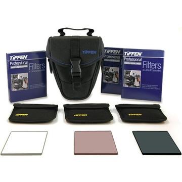 """Tiffen 4 x 5.6""""  (4mm thick) Digital Video Essentials Kit 3"""