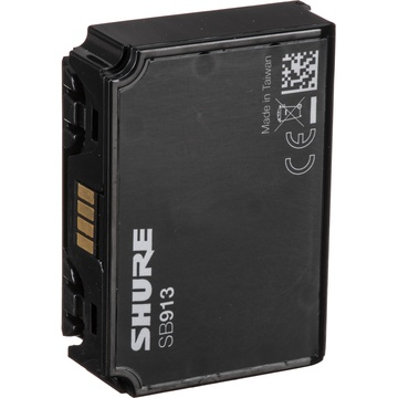 Shure SB913 AAA Battery Sled for ADX1 and ADX1 LEMO Transmitters