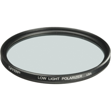Tiffen 77mm Low Light Linear Polarizer Filter