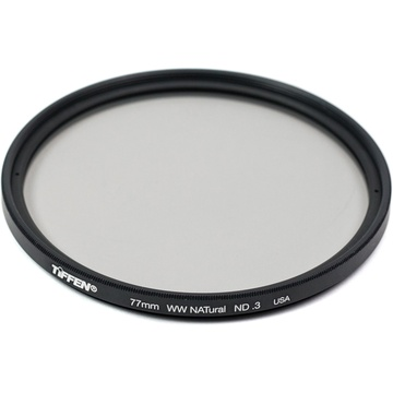 Tiffen 77mm Water White Glass NATural IRND 0.3 Filter (1-Stop)