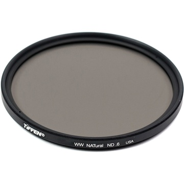 Tiffen 67mm Water White Glass NATural IRND 0.6 Filter (2-Stop)